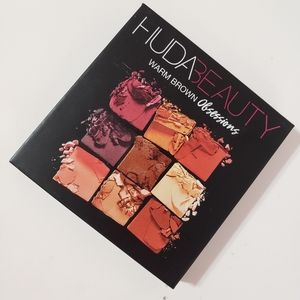 Huda Beauty Warm Browns Obsessions Eyeshadow Palet